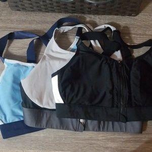 Bundle of fabletics high impact sports bra
